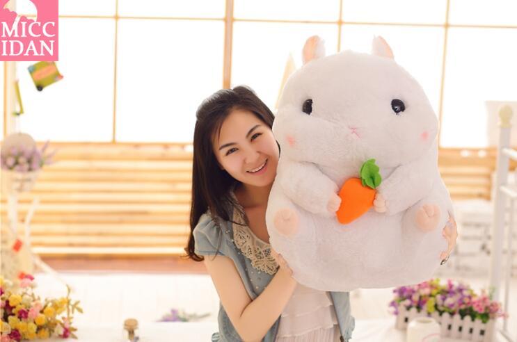 可爱日本胖仓鼠公仔布娃娃玩偶豚鼠儿童毛绒玩具抱枕生日礼物女生